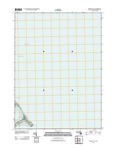 Duxbury OE E Massachusetts Historical topographic map, 1:24000 scale, 7.5 X 7.5 Minute, Year 2012