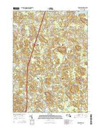 Georgetown Massachusetts Current topographic map, 1:24000 scale, 7.5 X 7.5 Minute, Year 2015 from Massachusetts Map Store