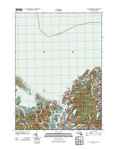 Gloucester OE N Massachusetts Historical topographic map, 1:24000 scale, 7.5 X 7.5 Minute, Year 2012