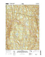 Goshen Massachusetts Current topographic map, 1:24000 scale, 7.5 X 7.5 Minute, Year 2015 from Massachusetts Map Store