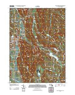 Great Barrington Massachusetts Historical topographic map, 1:24000 scale, 7.5 X 7.5 Minute, Year 2012