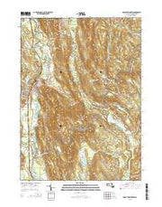 Great Barrington Massachusetts Current topographic map, 1:24000 scale, 7.5 X 7.5 Minute, Year 2015 from Massachusetts Maps Store