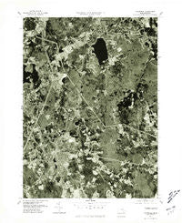 Mansfield Massachusetts Historical topographic map, 1:25000 scale, 7.5 X 7.5 Minute, Year 1977
