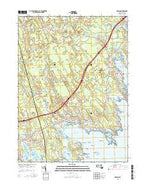 Marion Massachusetts Current topographic map, 1:24000 scale, 7.5 X 7.5 Minute, Year 2015 from Massachusetts Map Store