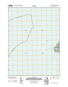 Monomoy Point OE W Massachusetts Historical topographic map, 1:24000 scale, 7.5 X 7.5 Minute, Year 2012