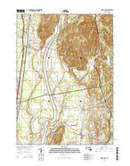Mount Toby Massachusetts Current topographic map, 1:24000 scale, 7.5 X 7.5 Minute, Year 2015 from Massachusetts Map Store