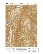 North Adams Massachusetts Current topographic map, 1:24000 scale, 7.5 X 7.5 Minute, Year 2015 from Massachusetts Map Store