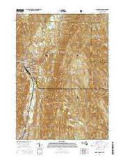 North Adams Massachusetts Current topographic map, 1:24000 scale, 7.5 X 7.5 Minute, Year 2015 from Massachusetts Maps Store