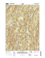 North Brookfield Massachusetts Current topographic map, 1:24000 scale, 7.5 X 7.5 Minute, Year 2015 from Massachusetts Map Store