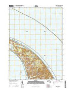 North Truro Massachusetts Current topographic map, 1:24000 scale, 7.5 X 7.5 Minute, Year 2015 from Massachusetts Map Store