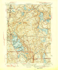 Oxford Massachusetts Historical topographic map, 1:31680 scale, 7.5 X 7.5 Minute, Year 1946