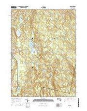 Peru Massachusetts Current topographic map, 1:24000 scale, 7.5 X 7.5 Minute, Year 2015 from Massachusetts Maps Store