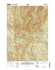 Plainfield Massachusetts Current topographic map, 1:24000 scale, 7.5 X 7.5 Minute, Year 2015 from Massachusetts Maps Store