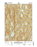 Royalston Massachusetts Current topographic map, 1:24000 scale, 7.5 X 7.5 Minute, Year 2015 from Massachusetts Map Store