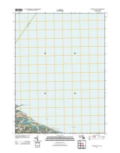 Sandwich OE N Massachusetts Historical topographic map, 1:24000 scale, 7.5 X 7.5 Minute, Year 2012