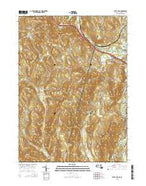 State Line Massachusetts Current topographic map, 1:24000 scale, 7.5 X 7.5 Minute, Year 2015 from Massachusetts Map Store