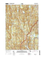 Sterling Massachusetts Current topographic map, 1:24000 scale, 7.5 X 7.5 Minute, Year 2015 from Massachusetts Map Store