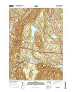 Stockbridge Massachusetts Current topographic map, 1:24000 scale, 7.5 X 7.5 Minute, Year 2015 from Massachusetts Map Store