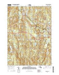 Templeton Massachusetts Current topographic map, 1:24000 scale, 7.5 X 7.5 Minute, Year 2015