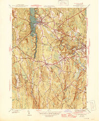 Templeton Massachusetts Historical topographic map, 1:31680 scale, 7.5 X 7.5 Minute, Year 1946