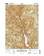 Tolland Center Massachusetts Current topographic map, 1:24000 scale, 7.5 X 7.5 Minute, Year 2015 from Massachusetts Map Store