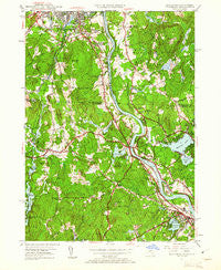 Tyngsboro New Hampshire Historical topographic map, 1:24000 scale, 7.5 X 7.5 Minute, Year 1950