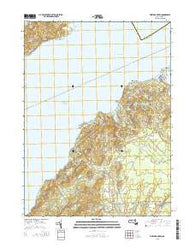 Vineyard Haven Massachusetts Current topographic map, 1:24000 scale, 7.5 X 7.5 Minute, Year 2015