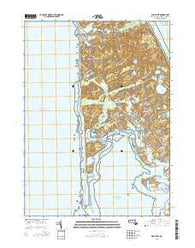 Wellfleet Massachusetts Current topographic map, 1:24000 scale, 7.5 X 7.5 Minute, Year 2015