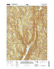 West Granville Massachusetts Current topographic map, 1:24000 scale, 7.5 X 7.5 Minute, Year 2015 from Massachusetts Maps Store
