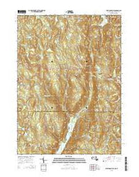 West Granville Massachusetts Current topographic map, 1:24000 scale, 7.5 X 7.5 Minute, Year 2015