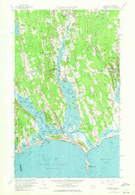 Westport Maryland Historical topographic map, 1:24000 scale, 7.5 X 7.5 Minute, Year 1963