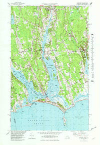 Westport Maryland Historical topographic map, 1:24000 scale, 7.5 X 7.5 Minute, Year 1977