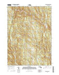 Worthington Massachusetts Current topographic map, 1:24000 scale, 7.5 X 7.5 Minute, Year 2015