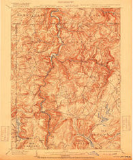 Accident Maryland Historical topographic map, 1:62500 scale, 15 X 15 Minute, Year 1900