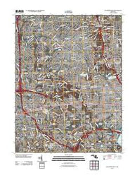 Baltimore West Maryland Historical topographic map, 1:24000 scale, 7.5 X 7.5 Minute, Year 2011