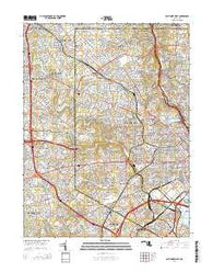 Baltimore West Maryland Historical topographic map, 1:24000 scale, 7.5 X 7.5 Minute, Year 2014