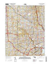 Baltimore West Maryland Current topographic map, 1:24000 scale, 7.5 X 7.5 Minute, Year 2016