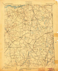 Barclay Maryland Historical topographic map, 1:62500 scale, 15 X 15 Minute, Year 1905