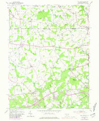 Bay View Maryland Historical topographic map, 1:24000 scale, 7.5 X 7.5 Minute, Year 1953