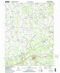 Bay View Maryland Historical topographic map, 1:24000 scale, 7.5 X 7.5 Minute, Year 1997
