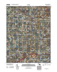 Bay View Maryland Historical topographic map, 1:24000 scale, 7.5 X 7.5 Minute, Year 2011