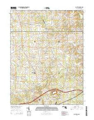 Bay View Maryland Historical topographic map, 1:24000 scale, 7.5 X 7.5 Minute, Year 2014