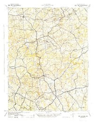 Bel Air Maryland Historical topographic map, 1:62500 scale, 15 X 15 Minute, Year 1942