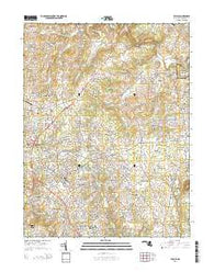 Bel Air Maryland Historical topographic map, 1:24000 scale, 7.5 X 7.5 Minute, Year 2014
