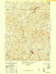 Belair Maryland Historical topographic map, 1:62500 scale, 15 X 15 Minute, Year 1948