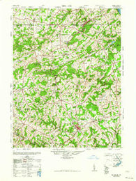 Belair Maryland Historical topographic map, 1:62500 scale, 15 X 15 Minute, Year 1963
