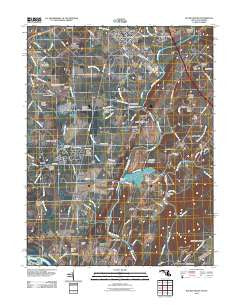 Buckeystown Maryland Historical topographic map, 1:24000 scale, 7.5 X 7.5 Minute, Year 2011