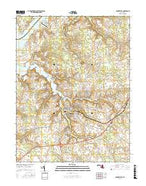 Centreville Maryland Current topographic map, 1:24000 scale, 7.5 X 7.5 Minute, Year 2017 from Maryland Map Store