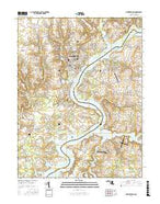 Chestertown Maryland Current topographic map, 1:24000 scale, 7.5 X 7.5 Minute, Year 2017 from Maryland Map Store