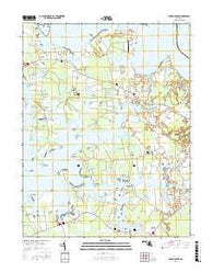 Church Creek Maryland Current topographic map, 1:24000 scale, 7.5 X 7.5 Minute, Year 2016